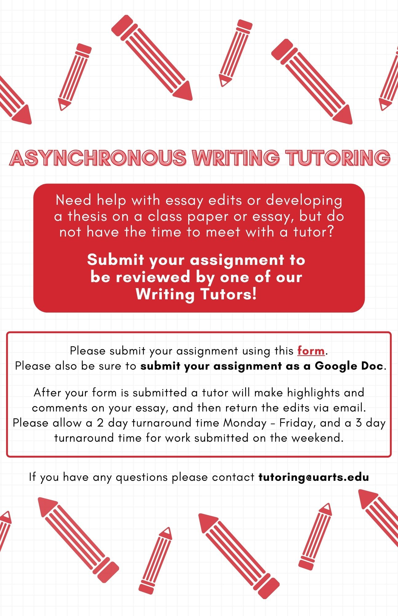 Async Writing Tutoring