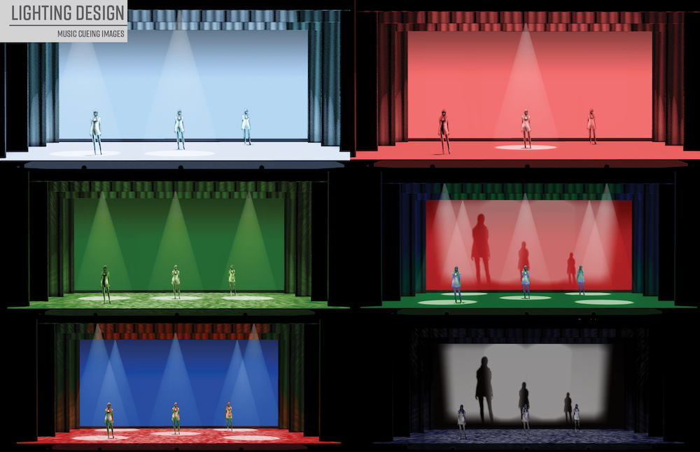 Lighting Design Music Cueing by Noelani Montas '22 (Theater Design & Technology)