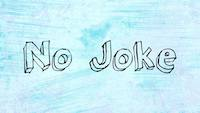 No Joke Logo