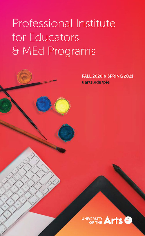 Professional Institute for Educators & MEd Programs Brochure Cover