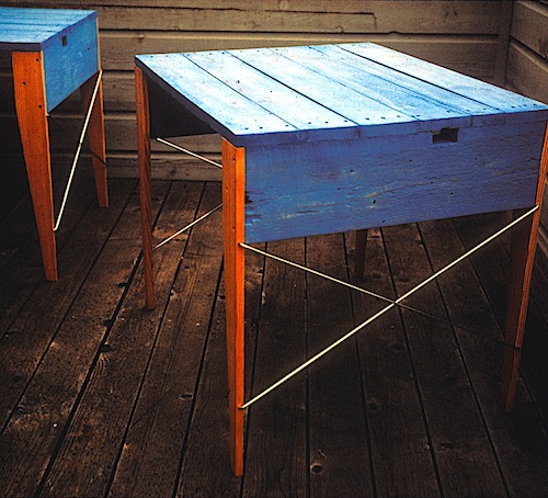 Tony Guido's recycled pallet table design