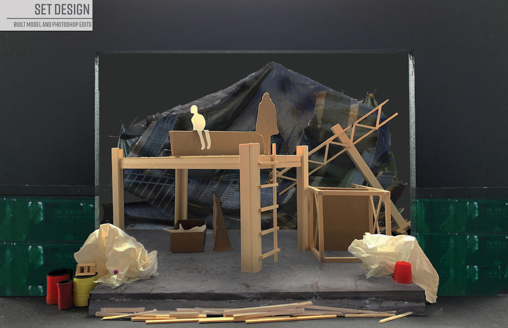 Set Design Act 2 by Noelani Montas '22 (Theater Design & Technology)