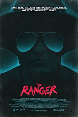 "A film poster for ""The Ranger"" produced, directed, written and edited by Jenn Wexler BFA '08"