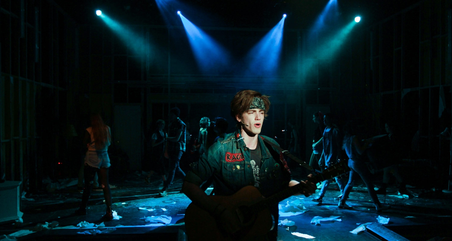 Theater Design & Technology - American Idiot at UArts