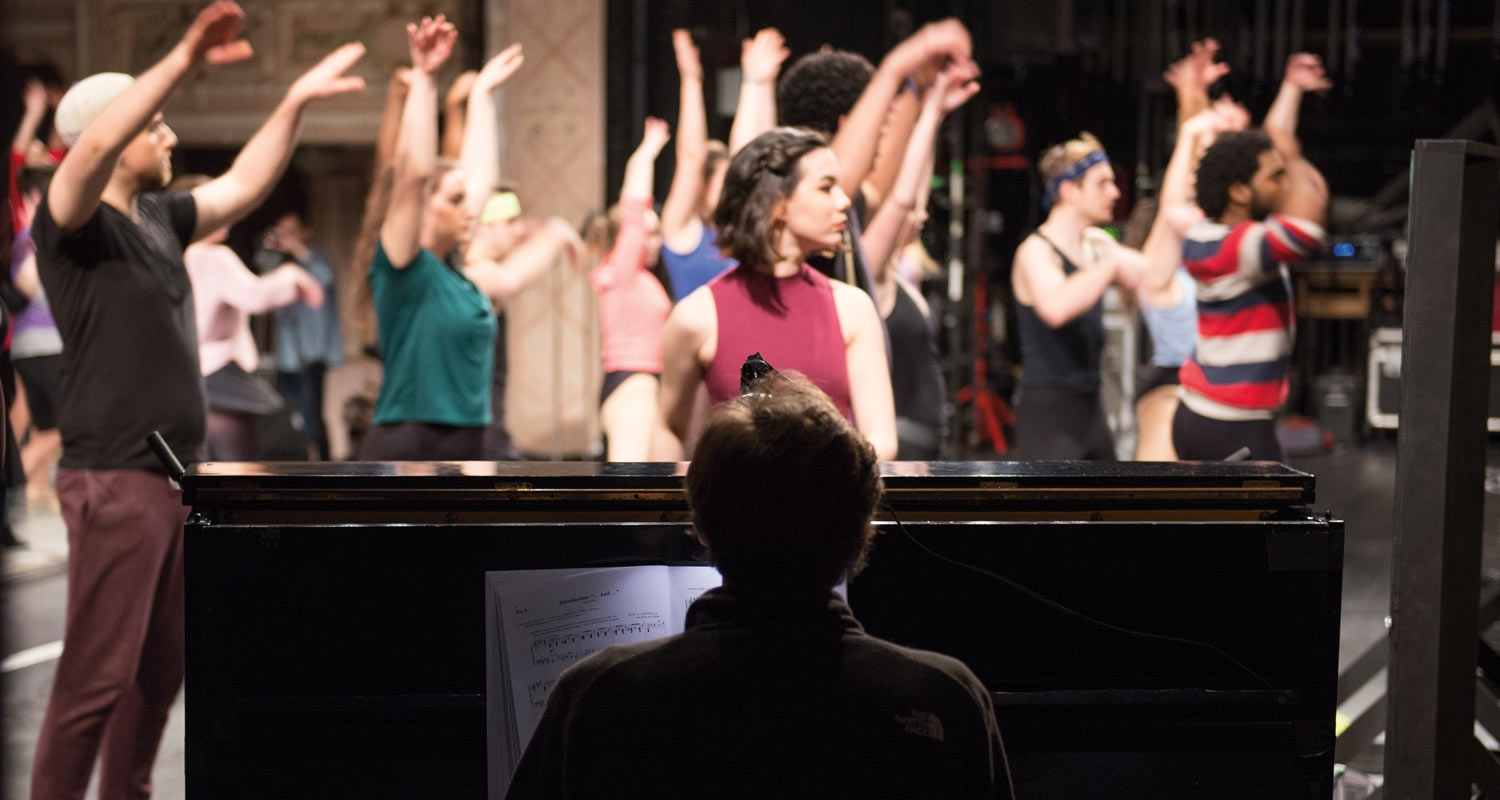 UArts Theater students rehearse
