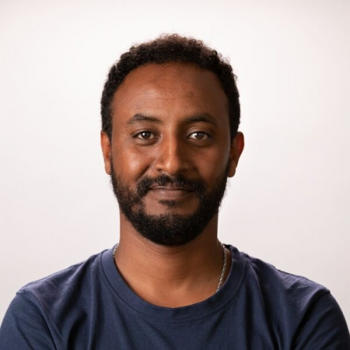 A headshot of Ph.D. candidate Abel Tilahun.