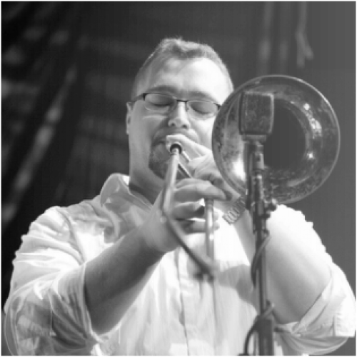 JArred Antonacci playing trombone
