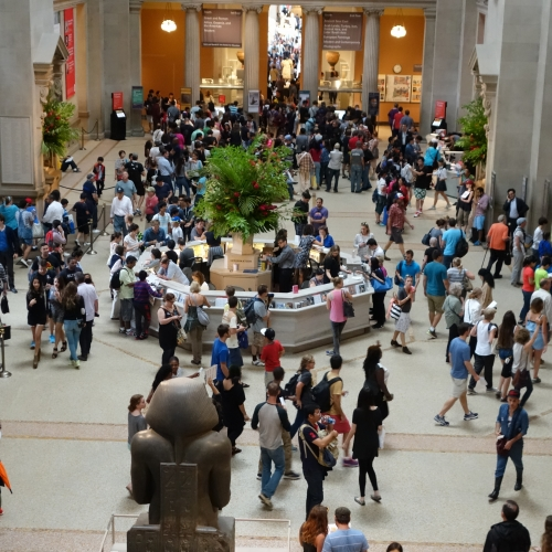 Visit to the MET in New York