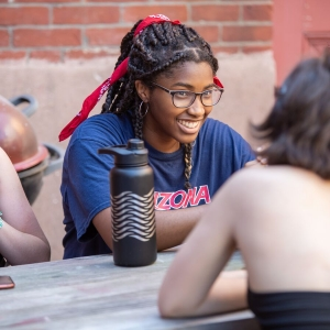 Students take a break during Summer Institute